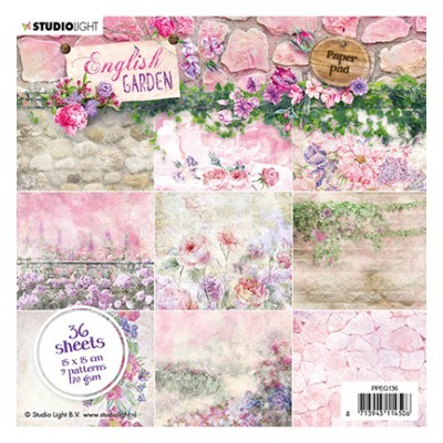 English garden Paperpad