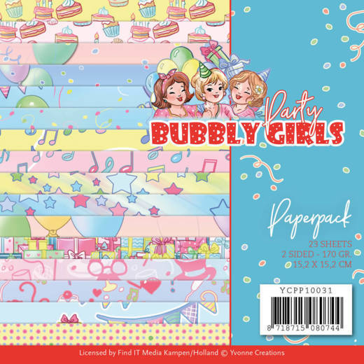 Bubbly Girls: Paperpack Party