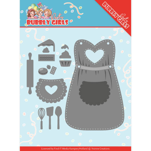Bubbly Girls: Apron