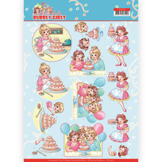 Bubbly Girls Party: Baking