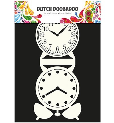 Dutch card art: Clock