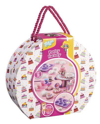 Totum kinder hobbyset Pastry Factory 026032 Suitcase
