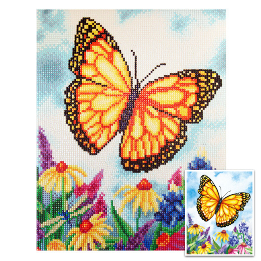 Craft Artist Diamond Art - Butterfly