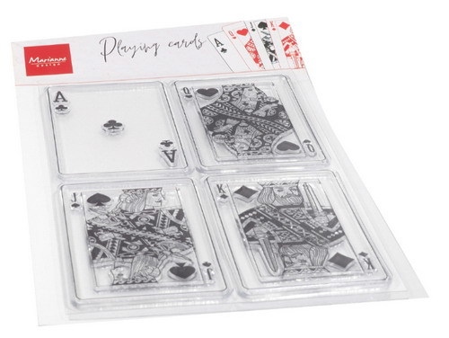 Clearstamp: Playing cards