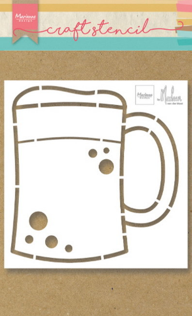 Craft Stencil: beer mug