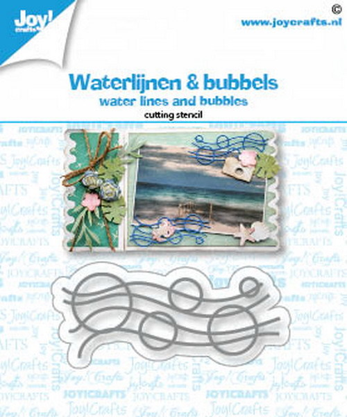 Joy Crafts! Waterlijnen & Bubbels