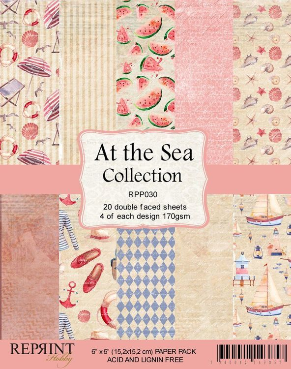 Reprint: At the sea collection