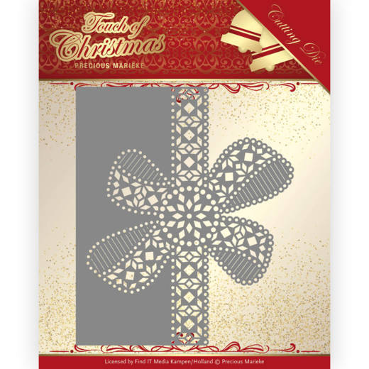 Dies - Precious Marieke - Touch of Christmas - Christmas Bow Border