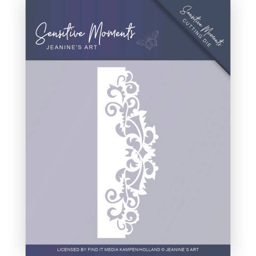 Dies - Jeanine's Art - Sensitive Moments - Swirl Border