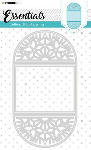 Studio Light Embossing Die Cut Stencil Essentials nr.298