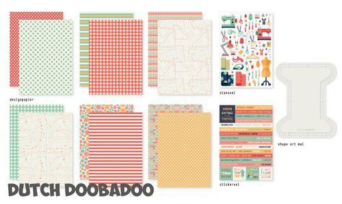 Dutch Doobadoo One More Stitch set