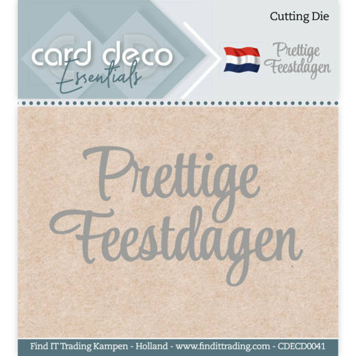Card Deco Essentials - Cutting Dies - Prettige Feestdagen