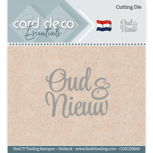 Card Deco Essentials - Cutting Dies - Oud & Nieuw