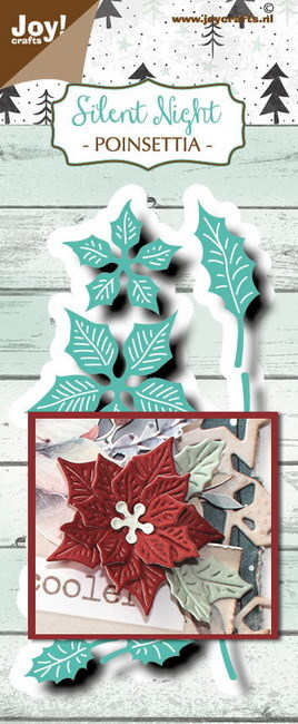 Joy crafts: Poinsettia