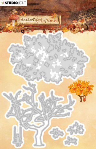 Studio Light Embossing Die 63x152mm Wonderful Autumn nr.310