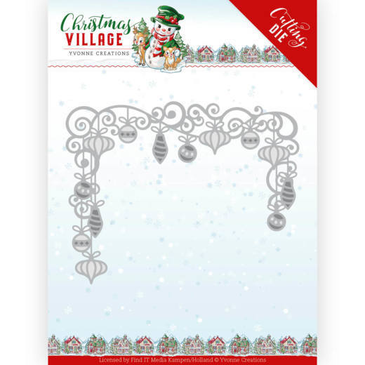 Dies - Yvonne Creations - Christmas Village - Christmas Baubles