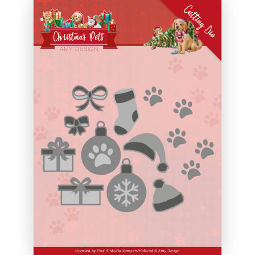 Dies - Amy Design - Christmas Pets - Christmas Decorations
