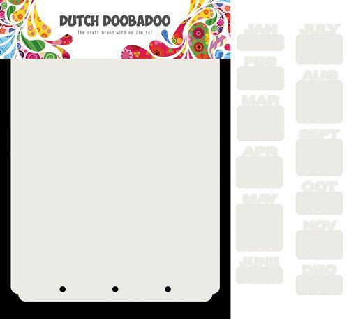Dutch Doobadoo Card Art Mini Album maanden 13 set 470.713.820