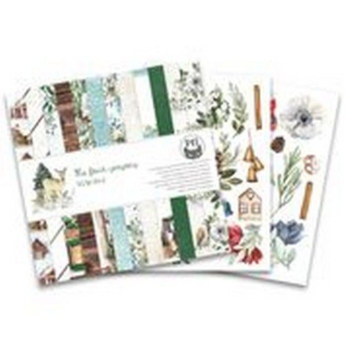 Piatek13 - Paper pad The Four Seasons - Winter, 6x6 P13-WIN-09