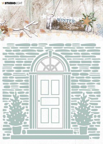 Studio Light Embossing Folder With Die Cut, Winter Charm nr. 07 EMBWC07