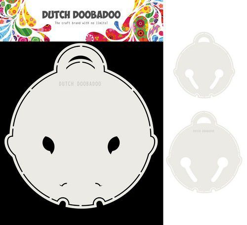 Dutch Doobadoo Card Art Kattenbel 2 set A5 470.713.814