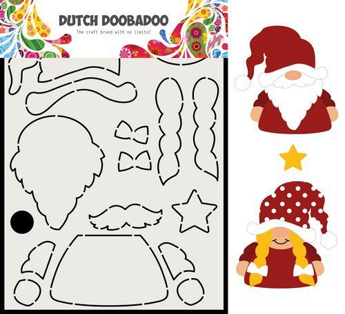 Dutch Doobadoo Card Art Built up Gnome 470.713.815