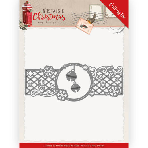 Dies - Amy Design - Nostalgic Christmas - Christmas Bells Border