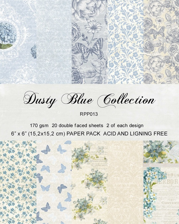 Reprint paperpack: Dusty Blue