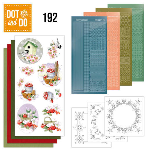 Dot and Do 192 - Jeanine's Art - Cold Winter