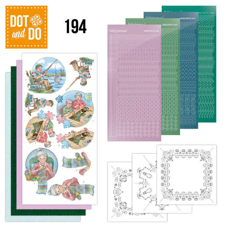 Dot and Do 194 -  Yvonne Creations - Knitting