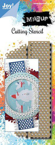 Joy! Crafts Stansmal - Noor - Mixed Up - Tape 6002/1564 139x61,5mm