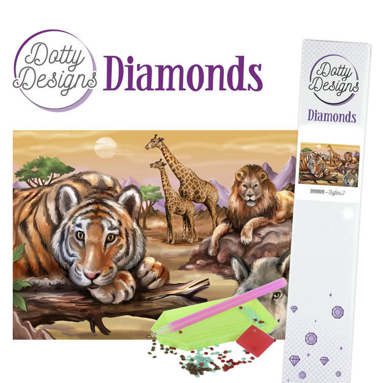 Dotty Designs Diamonds - Safari 2