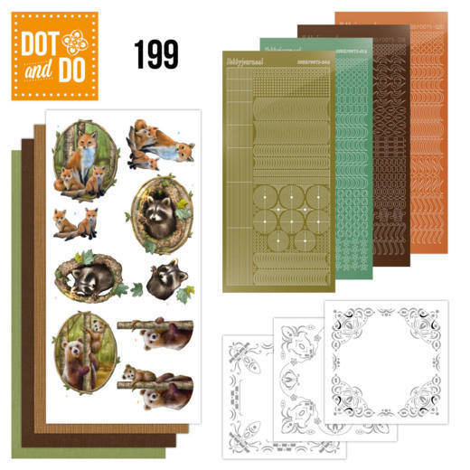 Dot and Do 199 - Amy Design - Forest Animals