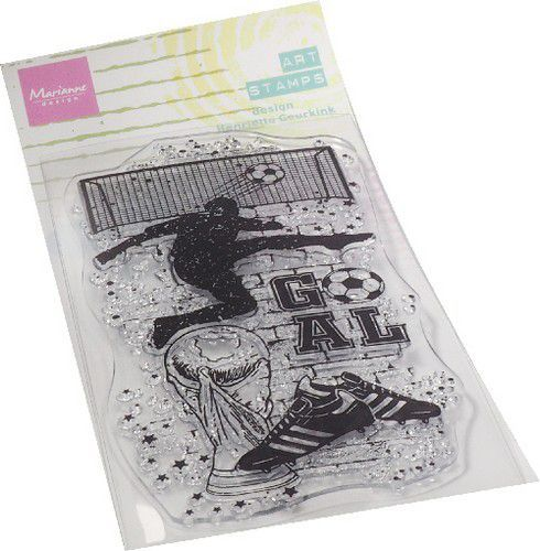 Marianne D Clear Stamps Art stamps - Voetbal MM1645 70x140mm