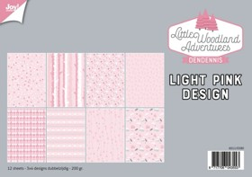 Joy! Papierset LWA Design light pink - 6011/0580
