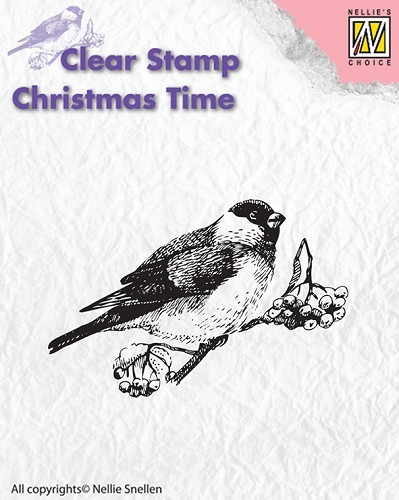 Clear stamp Christmas Time Bird