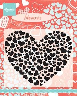 Clearstamp Heart XL