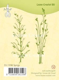 Clearstamp sprigs