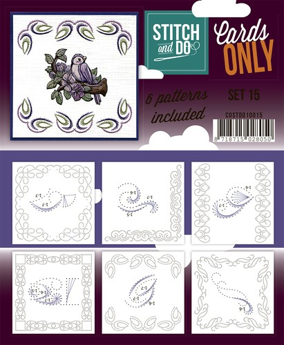 Stich & Do Cards only set 15