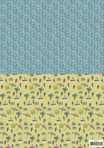 Background sheets Summer holiday