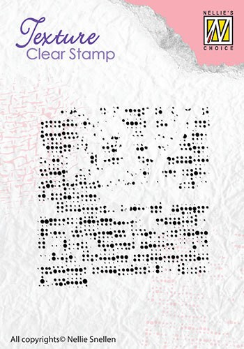 Clear stamp texture: fabric
