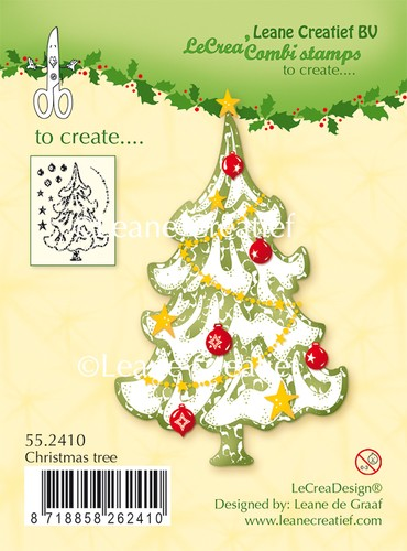 Clearstamp Christmas Tree