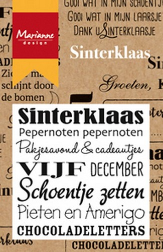 Clearstamp Sinterklaas