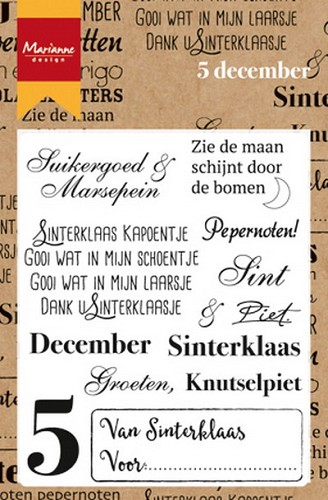 Clearstamp vijf december