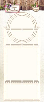 Home & Happiness Cardshape