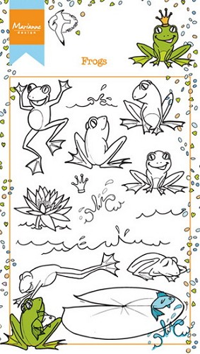 Clearstamp Frogs