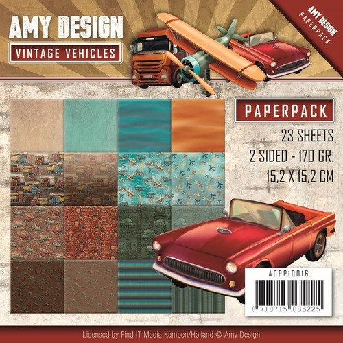 Amy Design Verhicles paperpack