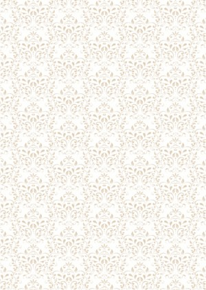 Basic Collection A4 200gr Vintage Beige Damask