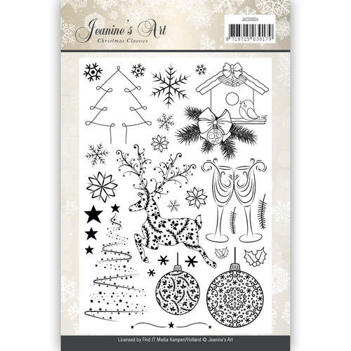 Christmas Classics Clearstamp