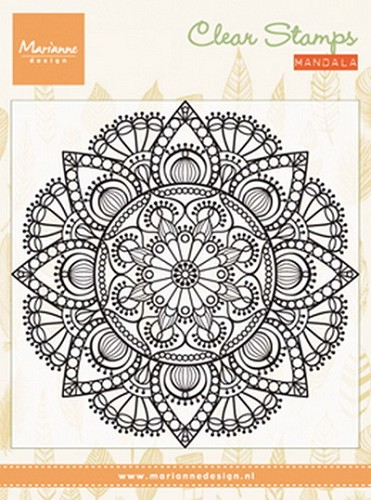 Clearstamp mandala